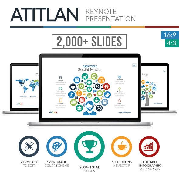Atitlan Keynote Presentation Template