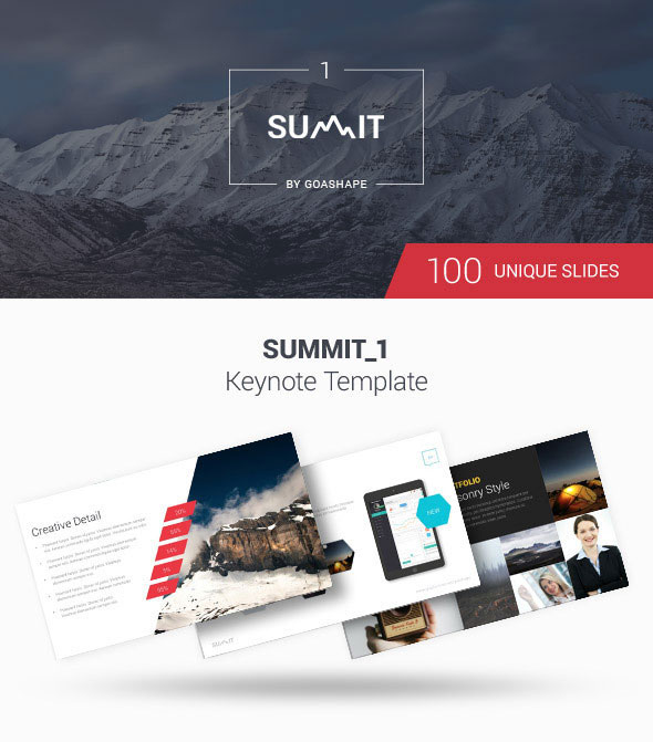 Summit 1 - Keynote Template