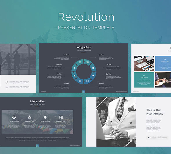 Revolution - Creative Keynote Template