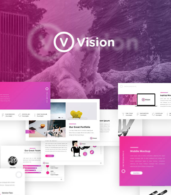 Vision - Creative Keynote Template