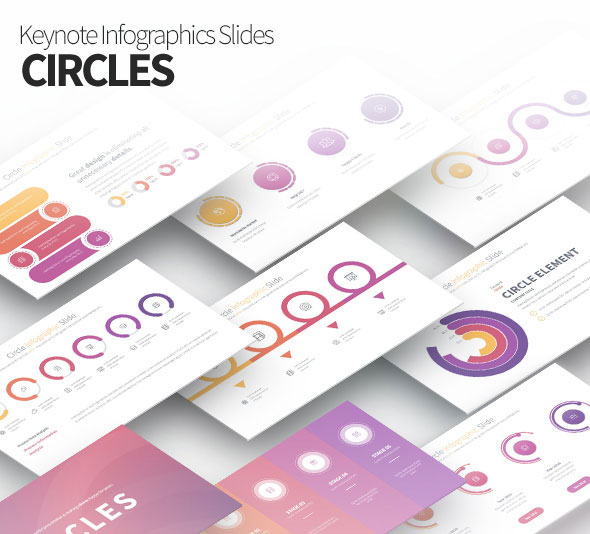 Circles - Keynote Infographics Slides