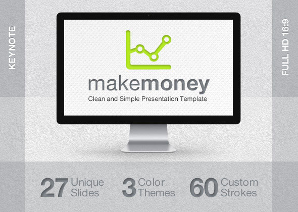 MakeMoney Keynote Presentation Template