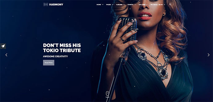 Harmony Music WordPress