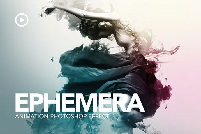 Ephemera Animation Photoshop Action