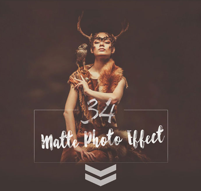 34 Matte Photo Effect Premium Collection