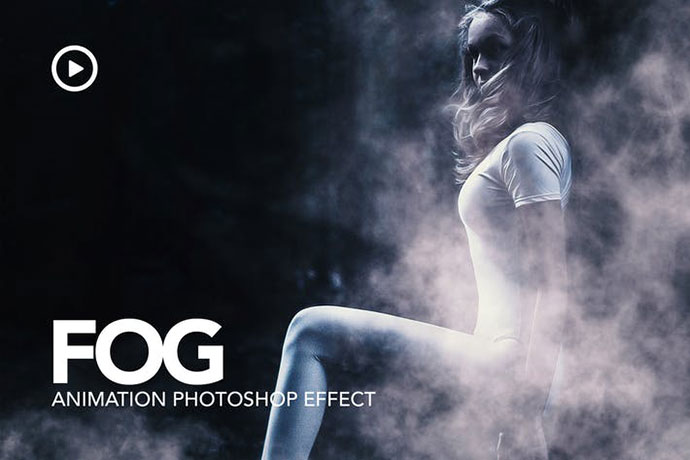Fog Animation Photoshop Action