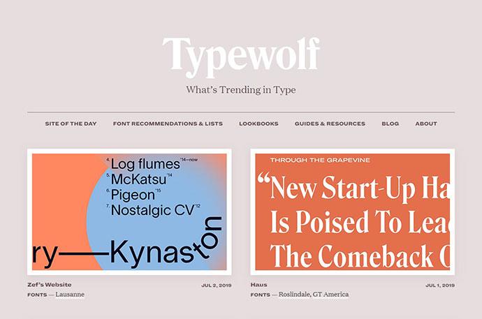 typewolf