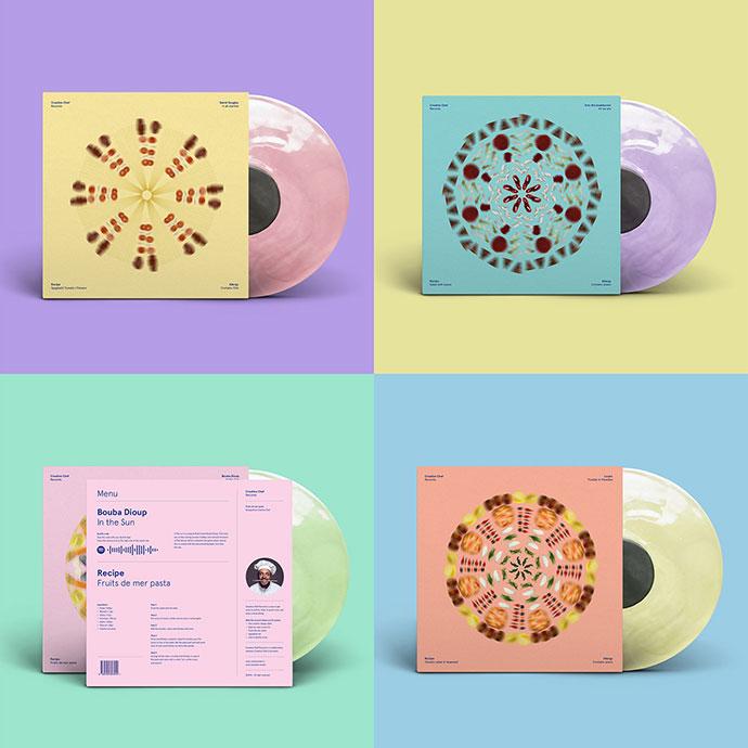 Creative Chef Records: Food / Music / Design