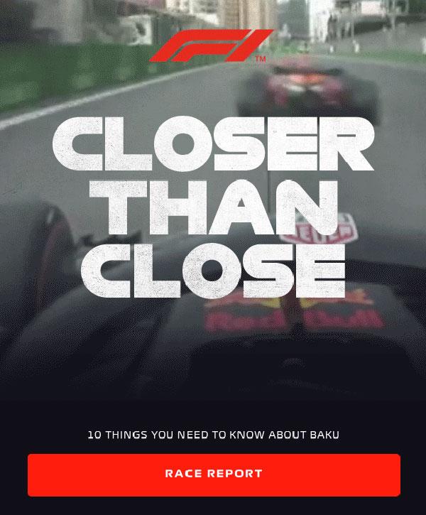 BAKU – Race Roundup