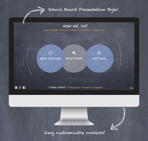 School Board - Creative Powerpoint Template