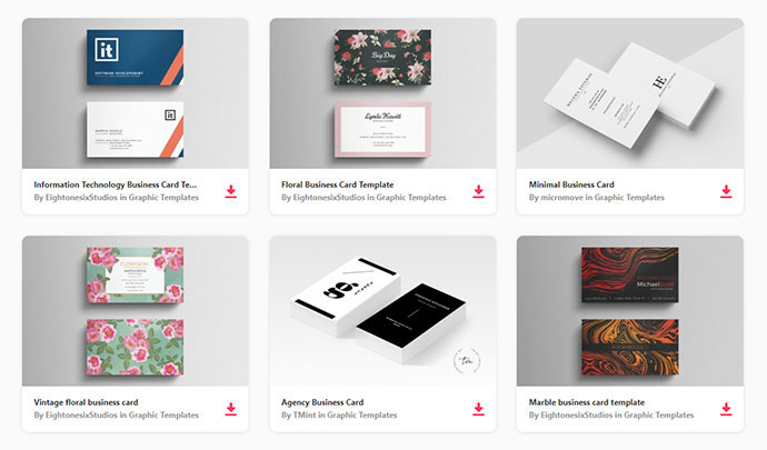 Premium Business Card Templates