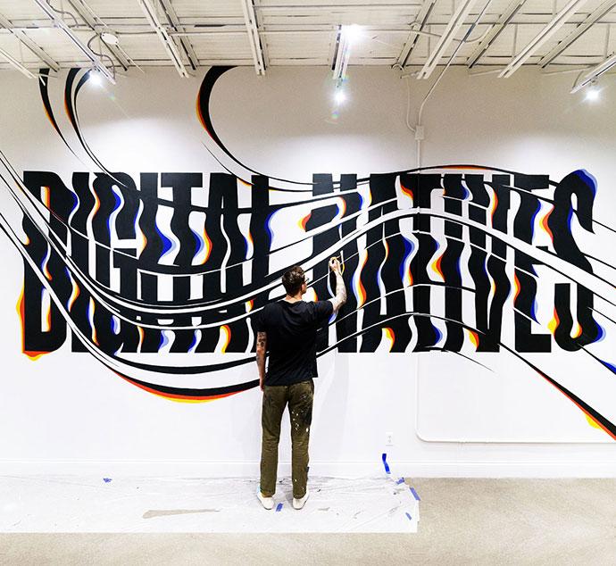 Digital Natives Mural