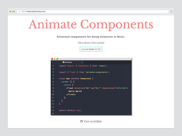 Animate Components