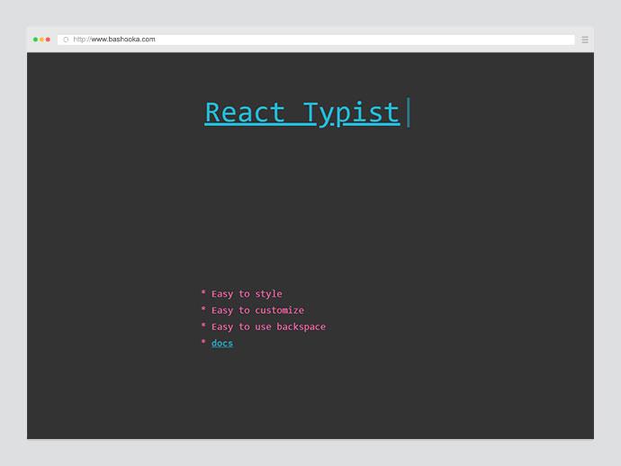 React Typist