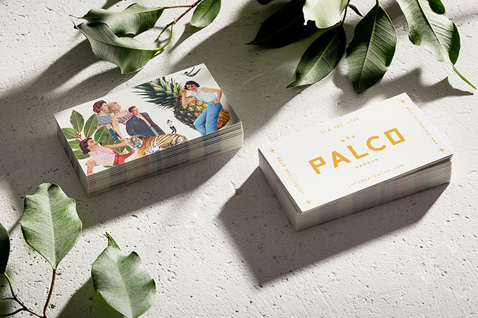 Palco - Brand identity