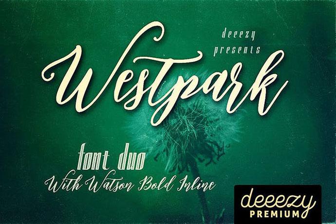 Westpark Script Font Duo