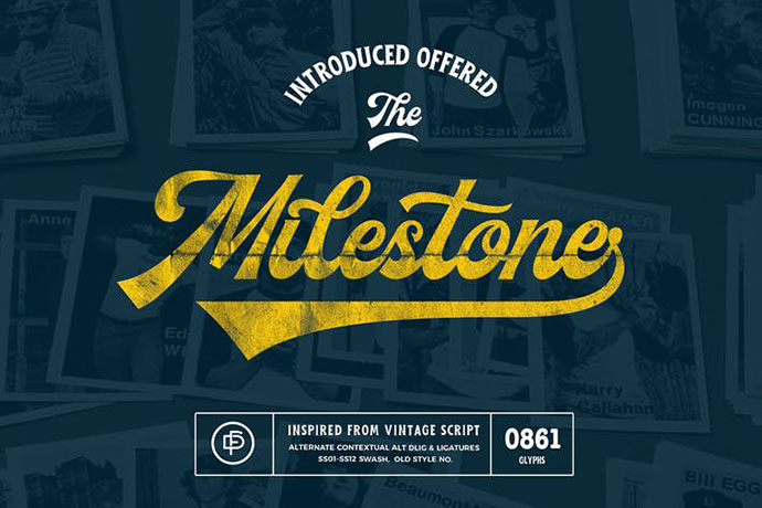 Milestone Font Duo