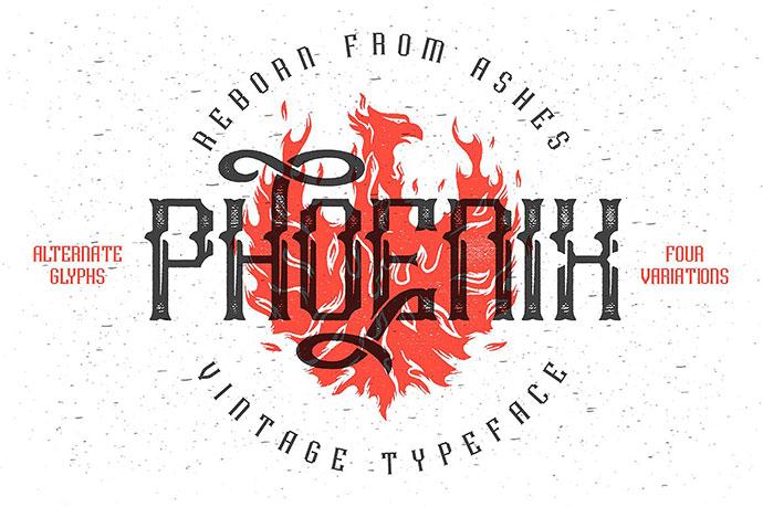 Phoenixtypeface