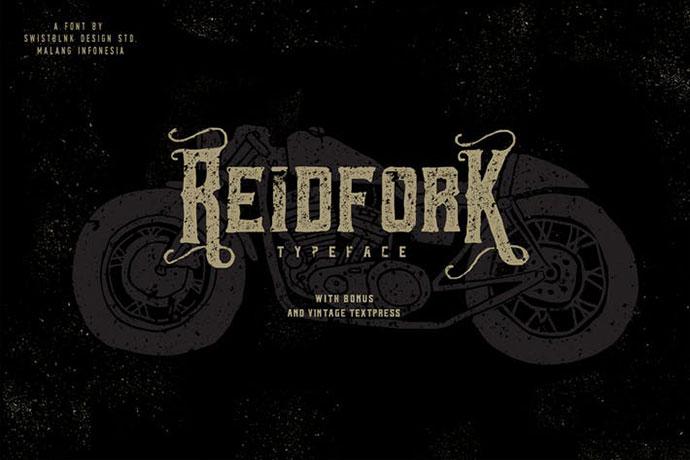 Reidfork Typeface + Textpress