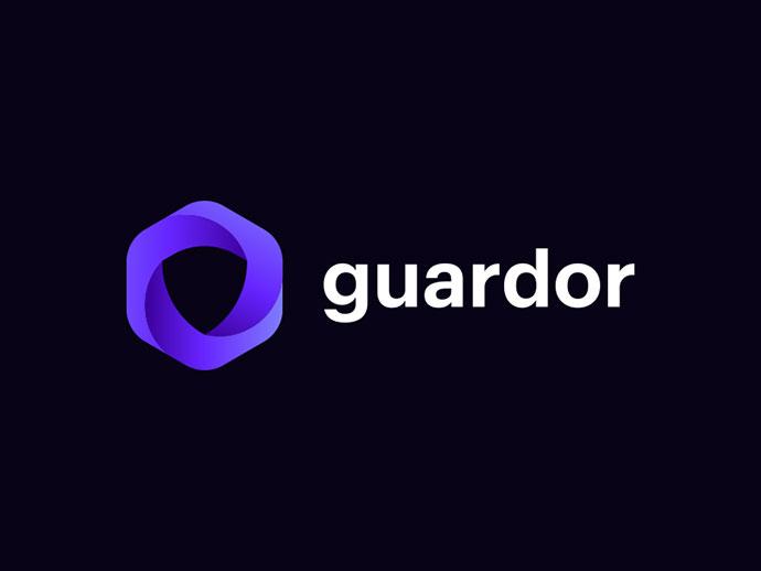 Guardor logo design