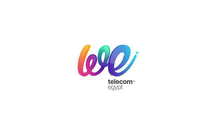 WE - Telecom Egypt Branding Concept.
