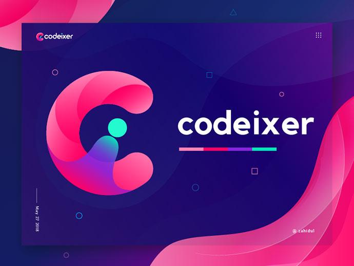 codeixer logo ( Ci logo mark)