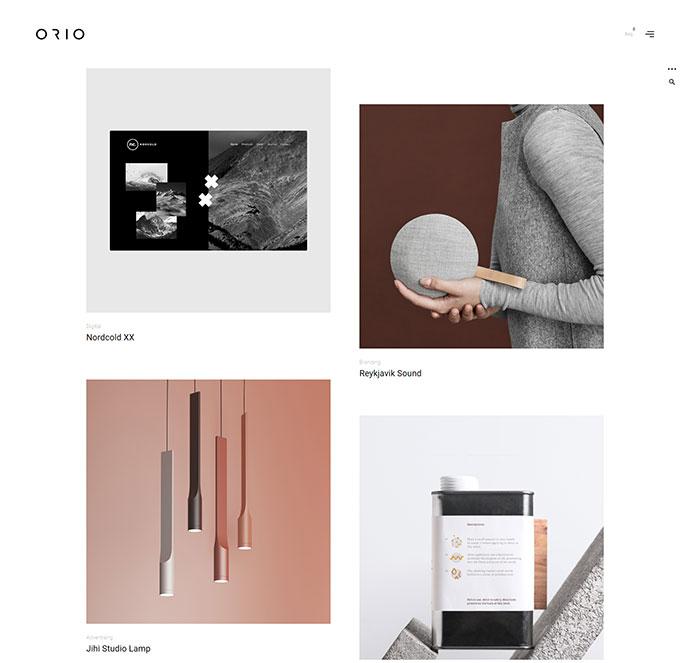 Orio - A creative Portfolio & Agency Theme