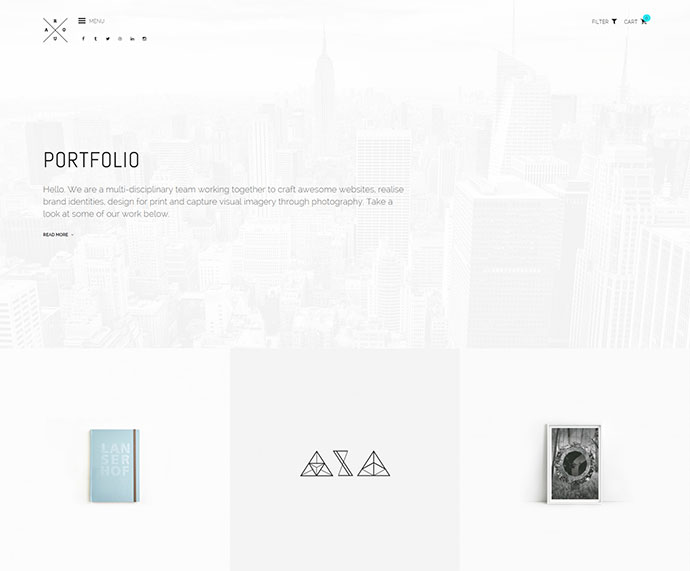 ROUA - Hipster Portfolio & Blogging WP Theme
