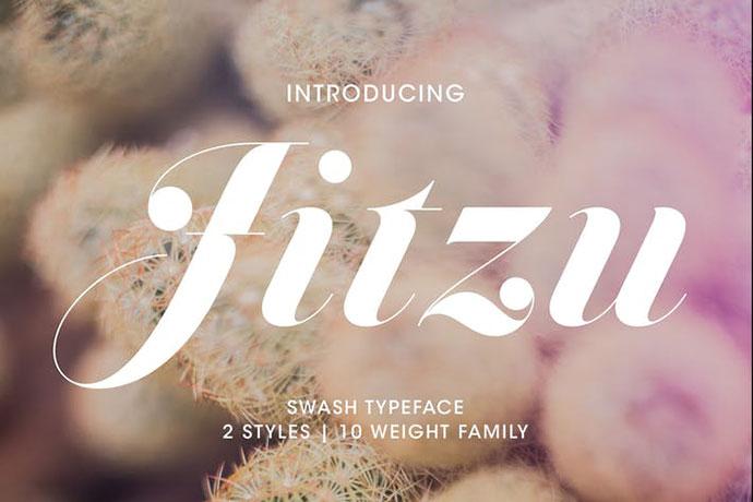 Jitzu Typefamily