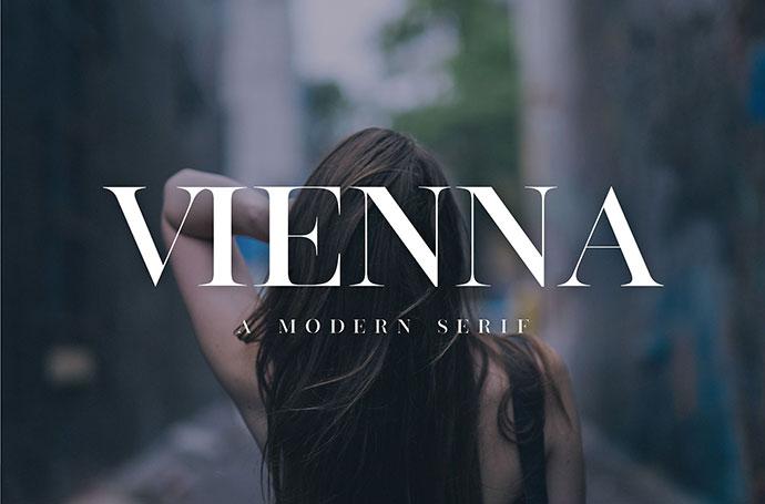 Vienna| Modern Serif Font