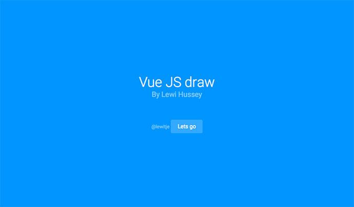 Vue JS Draw