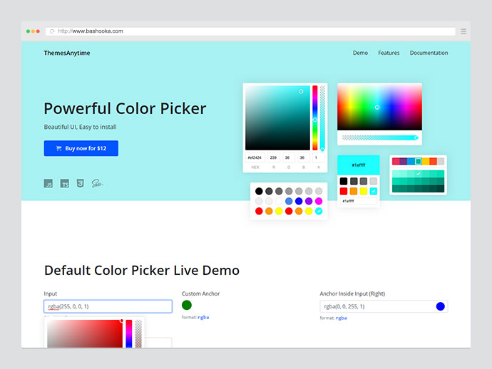 ColorPicker.Pro - Collection Of Powerful Color Pickers