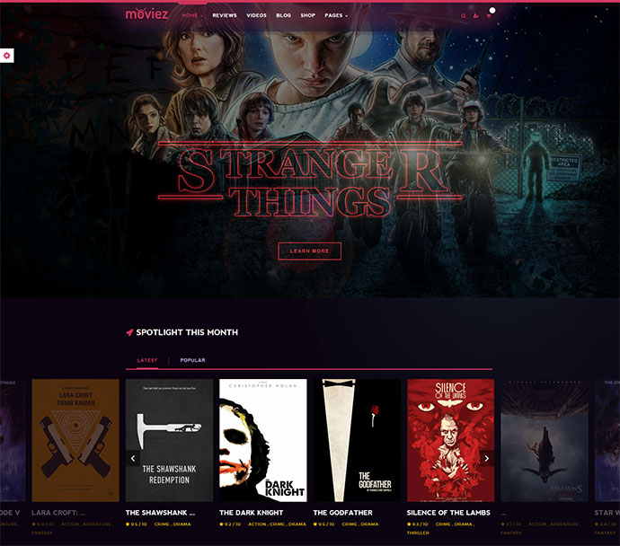 Gamez - Games, Movie, Music Review and Editorial WordPress Theme
