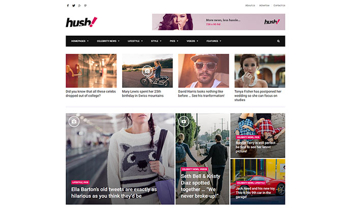 Hush | Celebrity Gossip & Entertainment News Theme