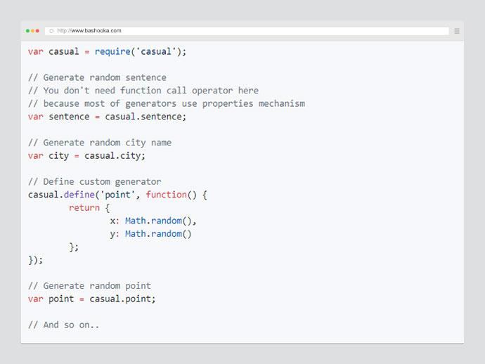 10 Javascript Tools To Create Dummy Data That Make Sense – Bashooka