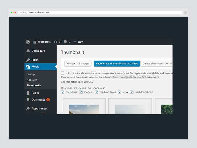 WordPress Real Thumbnail Generator - Bulk Regenerate Thumbnails