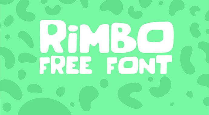 RIMBO FREE FONT
