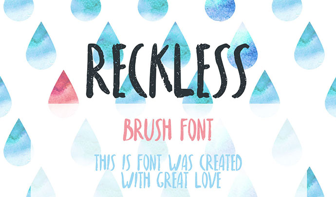 Reckless - FREE FONT