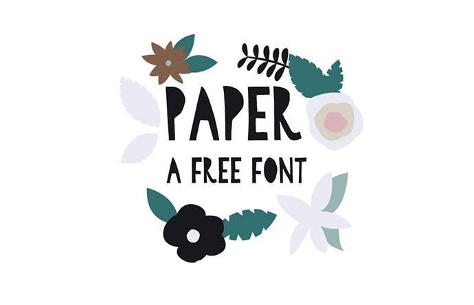Paper - A Free Font