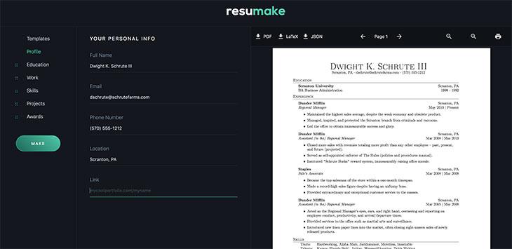 15 Useful Free Resume Generators