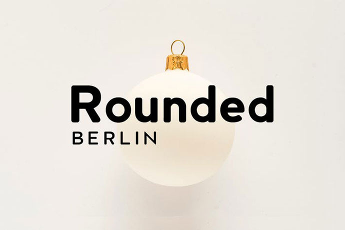 BERLIN Rounded - Sans Serif / Display Typeface
