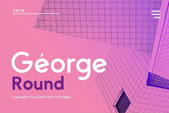 George Rounded Sans Serif