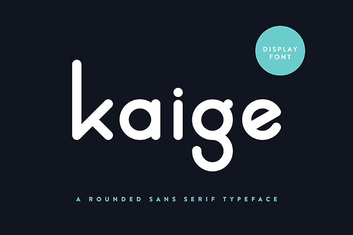 KAIGE™ | Display Font