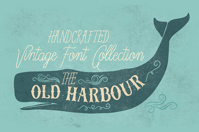 OldHarbour font collection