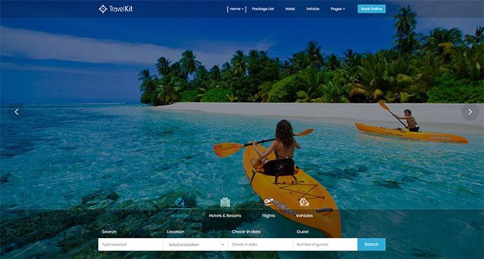 Travelkit - The Full-fledged Tour & Travel WordPress Theme