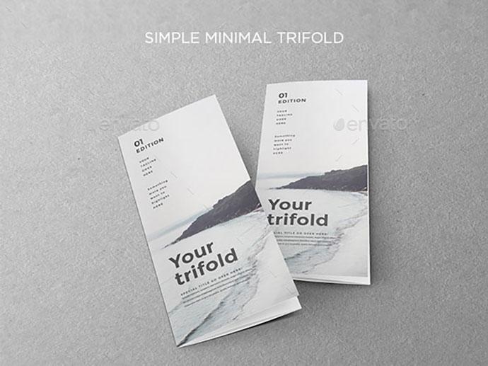 Simple Minimal Trifold