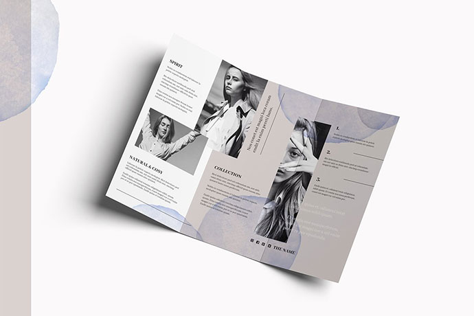 FASHION Trifold Brochure