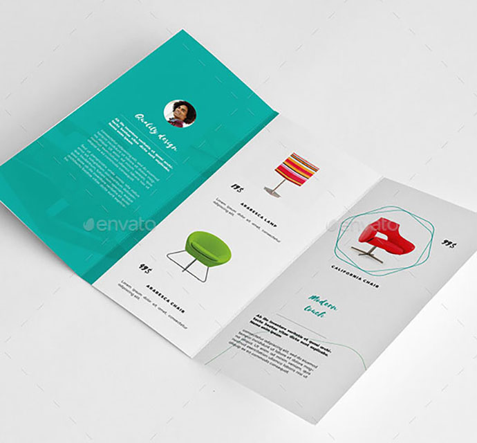 A4 & Letter Minimal Product Brochure