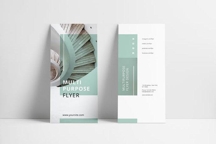 MINT Multipurpose Trifold Brochure