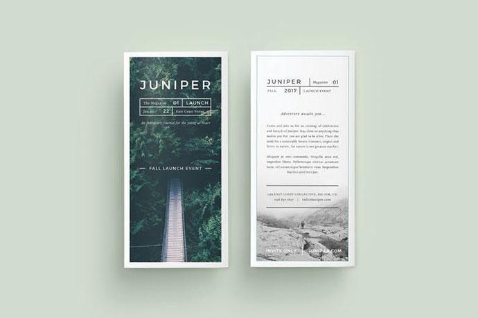 J U N I P E R Trifold Brochure